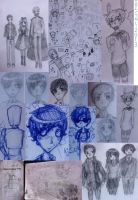 Sketch Dump Of 2013 (P2) by ImOnlyLittle