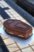 Coffin 3D Cake by Verusca