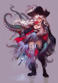 Pirate Bones by einlee