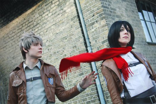 Jean and Mikasa, They call this Friendzone by Yamato-Leaphere