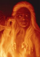 Daenerys Targaryen - Through the Fire by Kirana