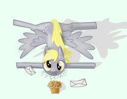 Derpy crashed by Donarion
