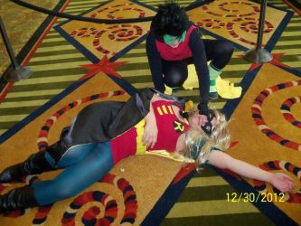 Damian tortures Stephanie by another2luvers