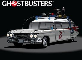The ECTO-1 by stxd3