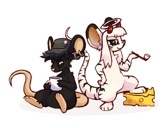 Two Mice by vultone