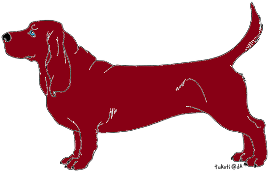 Red Basset Adopt- OPEN by StyxxsOmega