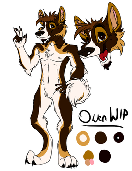 Owen Reference WIP by Silverfang98