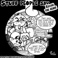 Stuff people say 225 by FlintofMother3