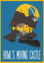 The Many Faces of Cinema: Howl's Moving Castle by Hyung86