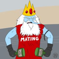 Ice King Burly Biker Guy by Kairu-Hakubi