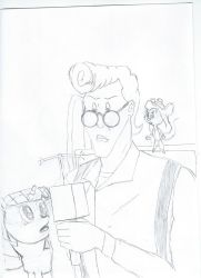 Egon with company by EgonEagle