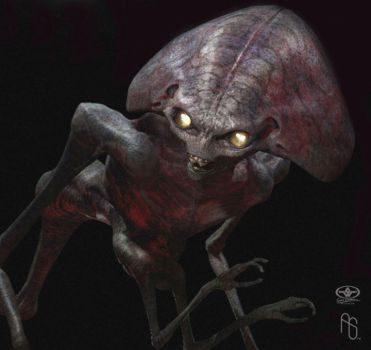 Alien Concept 1, WoW by aaronsimscompany