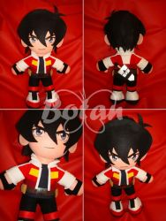Keith plush version by Momoiro-Botan