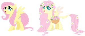 Fluttershy - Redesign by RosePinkArts