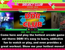 DDR Club Flyer by JeffreyAtW