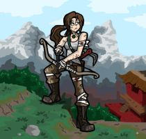 Tomb Raider by ObsidianWolf7