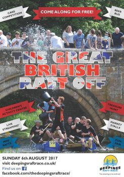 Raft Race advertising poster by dtw42