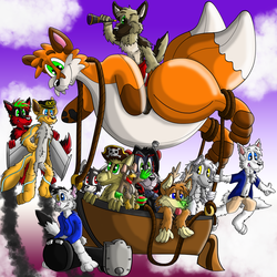 The Frolic-Sky-Pirates by Hukley