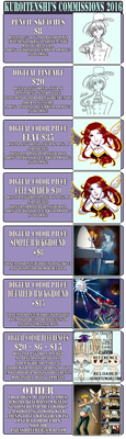2016 Mostly Digital Commission Prices by kuroitenshi13