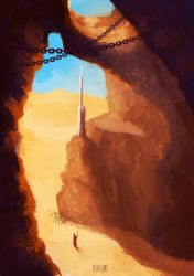 Tatooine caves by yuhime