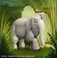Elephant by IllegalHamsterThe