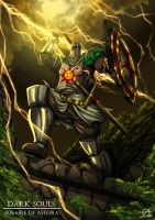 Knight Solaire by Osmar-Shotgun