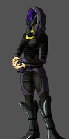 Tali'Zorah by Morgoth883