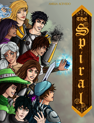 The Spiral: A Wizard101 Story - Coverpage by domleer