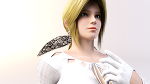 3DS Max - Helena Douglas by SilverMoonCrystal