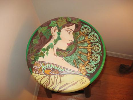 Mucha Inspired 2 by An-Ode-To-Maybe