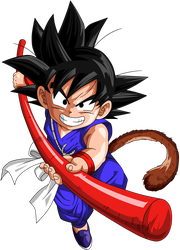 Dragon Ball - Kid Goku 38 by superjmanplay2