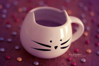 Kitty Cup by Catlaxy