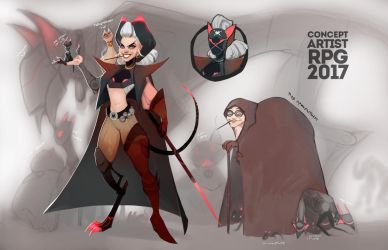 Grandma pirate and her 40 cats by Emilyena