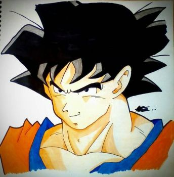 Goku(Traditional) by axl-universe