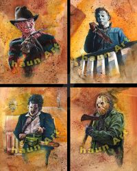 My version of the Four Horsemen by JohnHaunLE