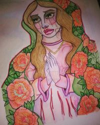 OUR LADY OF GUADALUPE by x-ladylex-o