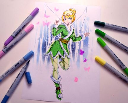 Winter Wonder Tinkerbell by Lighane