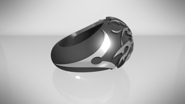 Lady of Pain Ring ! (side) by Hell-948
