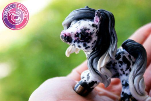 Leopard Appaloosa Pony Sculpture by crystalcookart