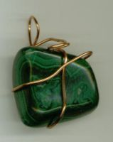 Malachite Stone Two by wiyaneth