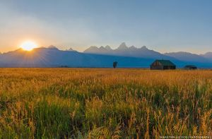 USA | Grand Teton Sunset by lux69aeterna
