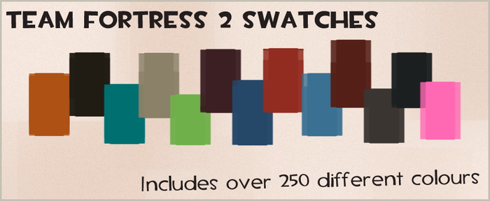 Team Fortress 2 Swatch collection by Createvi