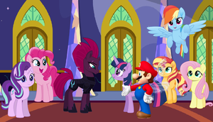 Mario meets Tempest Shadow by user15432