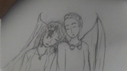 Clair and Clement- OCs by blurryblurr