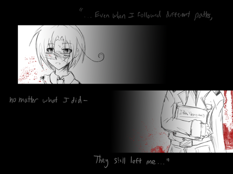 Lost...Everyone by Amphithere-Gray