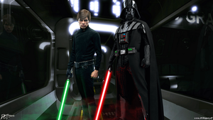 THE FORCE IS POWERFUL IN FAMILY by Davian-Art