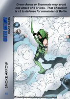 Green Arrow Special - Smoke Arrow by overpower-3rd