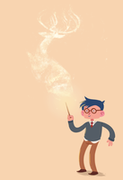 Potter and Patronus by Bumbledom