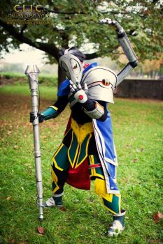 League of Legends - Viktor Cosplay by Hayato-X-Flame