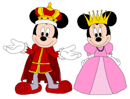 King Mickey and Queen Minnie - TPATP by KingLeonLionheart